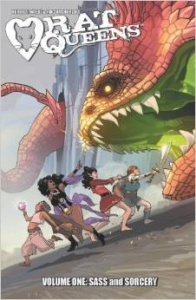 Rat Queens vol 1 Cover