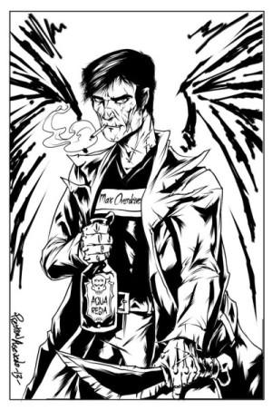 Fan art by Preston Asevedo from Kadrey's website.
