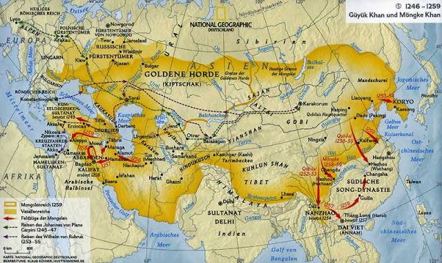 Mongol Empire Map