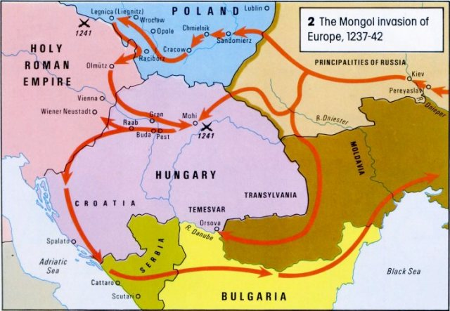 Mongols Invasion Europe