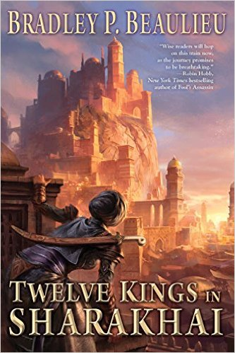 Twelve Kings in Sharakhai cover