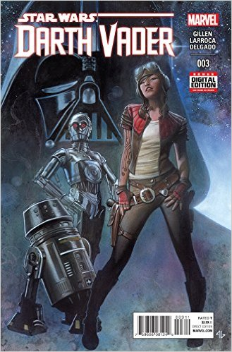 Darth Vader comic 3 cover