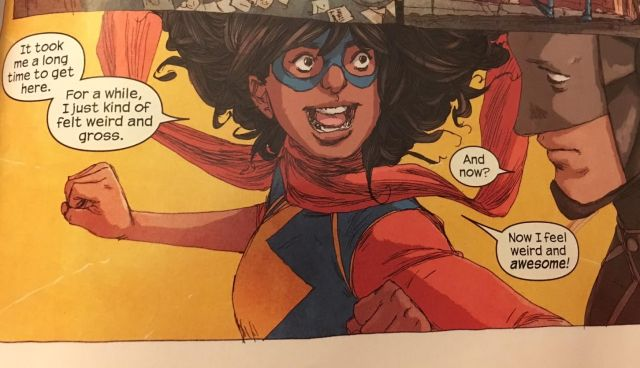 Well, that and her sheer exuberance at being a superhero.