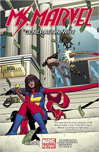 Ms Marvel vol 2 cover