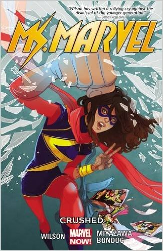 Ms Marvel vol 3 cover