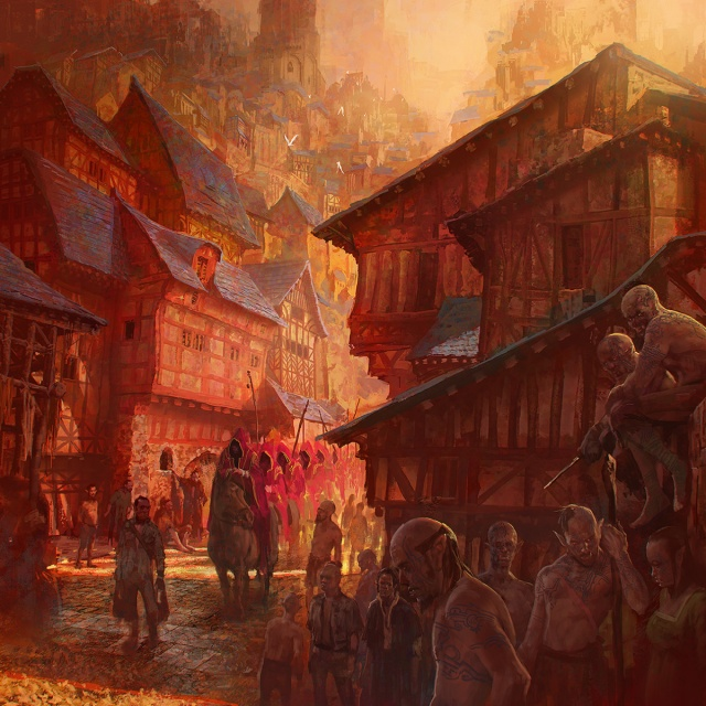 Marc Simonetti Downtown Dark Fantasy Calendar
