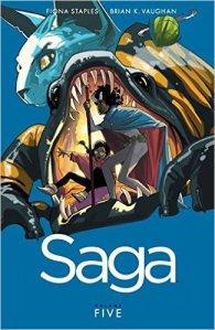 Saga vol 5 cover