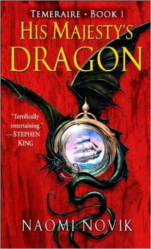 His Majestys Dragon cover
