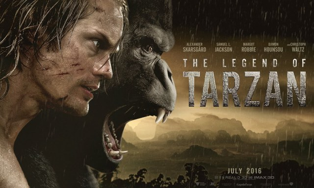 Legend of Tarzan movie poster 1