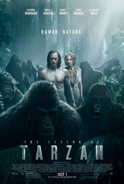 Legend of Tarzan movie poster 2