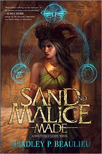 Of Sand and Malice Made cover