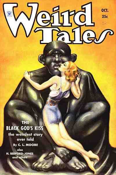 Weird Tales October 1934 cover