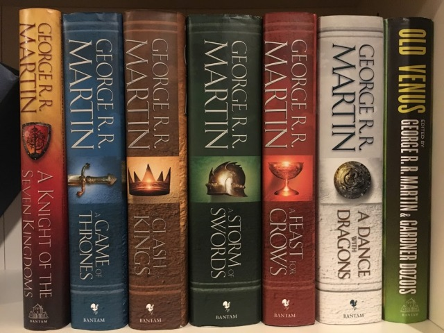 Revisiting George R R  Martin's A Song of Ice and Fire: A Dance with